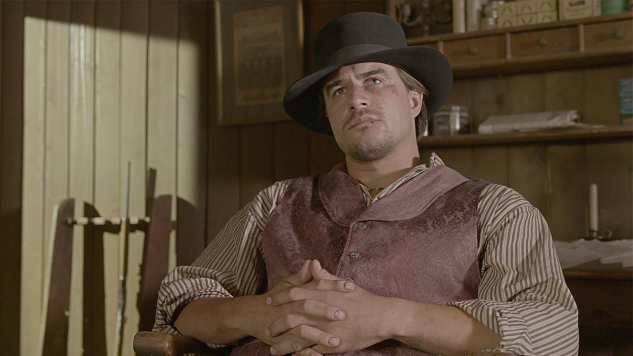 Actor Rob Mayes in A SOLDIER'S REVENGE.