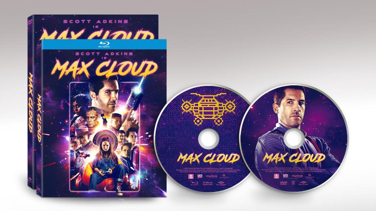 Official packshots and discs for MAX CLOUD by Well Go USA